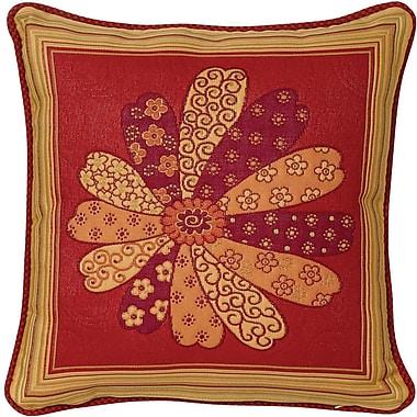 Chéné-Sasseville Kobe Brickwoven Throw Pillow, Inlay Pattern I