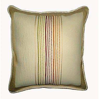 Chéné-Sasseville Matias Woven Throw Pillow, Inlay Pattern
