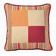 Chéné-Sasseville Corfu Woven Throw Pillow, Inlay Pattern I