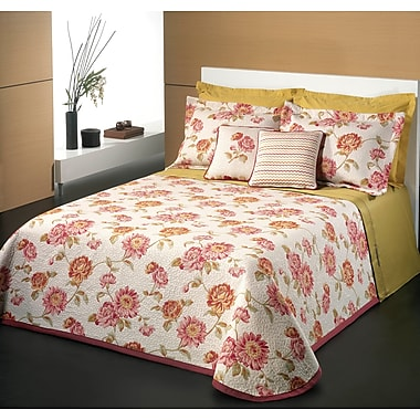 Chéné-Sasseville Peones Reversible Bedspread with 2 Shams, Queen