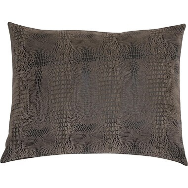 Chéné-Sasseville Leather Look Throw Pillow, 15