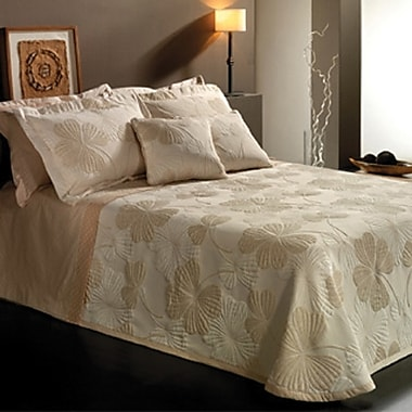 Chéné-Sasseville Ankora Reversible Bedspread with 2 Shams, Extra Queen
