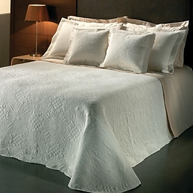 Chéné-Sasseville Bergame Reversible Bedspread with 2 Shams, King