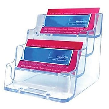 Acrylic Business Card Holders, 4 Tier