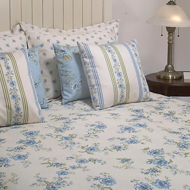 Chéné-Sasseville Romance Bedding Set, Blue