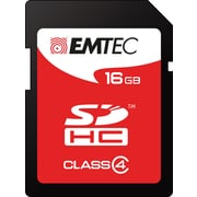 Emtec 16GB SDHC Class 4 Flash Memory Card