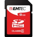 Emtec 8GB SDHC Class 4 Flash Memory Card