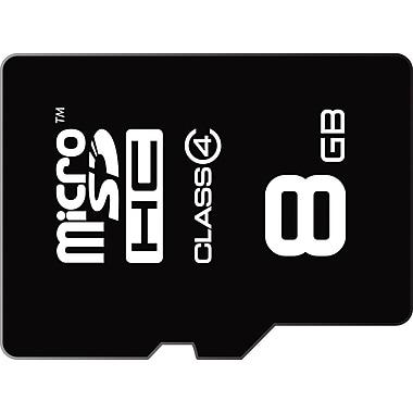 Emtec 8GB microSDHC Class 4 Flash Memory Card