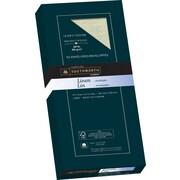 """Southworth® 25% Cotton, #10 Linen Business Envelopes, 24 lb, 4-1/8"""" x 9-1/2"""", Ivory, 50/Pack"""