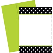 Great Papers® Black & White Dots Invitations, 20/Pack