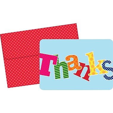 Great Papers® Carnival Thank You Cards, 24/Pack