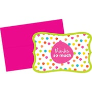 Great Papers® Circus Dots Panel Thank You Cards, 24/Pack
