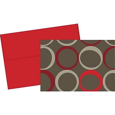 Great Papers® Colored Rings Note Cards, 24/Pack