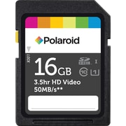 Polaroid 16GB SD (SDHC) Class 10 Flash Memory Card