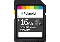 Polaroid 16GB SDHC UHS-1 Card Class 10 Flash Memory