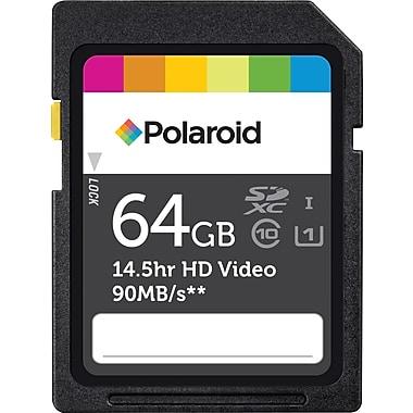 Polaroid 64GB SDXC UHS-1 Flash Memory Card