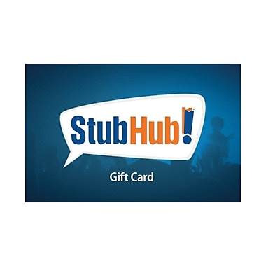 StubHub Gift Card $100 (Email Delivery)