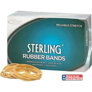 "Alliance Sterling Rubber Bands, #33 (3 1/2"" x 1/8"") Approximately 850/1 Lb. Box"