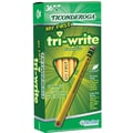 Dixon Tri-Write Triangular Beginner Pencils, No. 2, 36/Pack