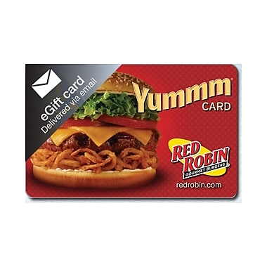 Red Robin Gift Card $50(Email Delivery)