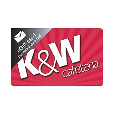 K&W Gift Card $25 (Email Delivery)