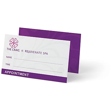 Custom Appointment Cards