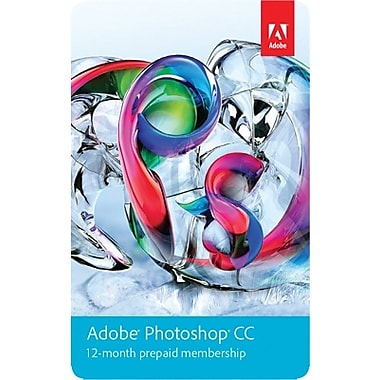 Adobe Photoshop CC for Windows/Mac (1-User) [Download, 1-Year Subscription]
