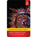 Adobe Creative Cloud for Windows/Mac (1-User) [Download, 1-Year Student & Teacher Subscription]