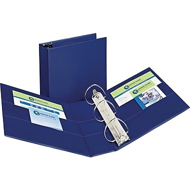 4in. Avery® Durable Binder with EZD Rings, Blue