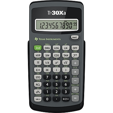 Texas Instruments – Calculatrice scientifique TI-30Xa