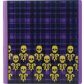 1in. Teen Vogue Better Binder, Plaid Skulls