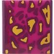 1in. Teen Vogue Better Binder, Pink/Yellow Animal