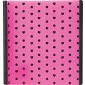 1in. Teen Vogue Better Binder, Pink Hearts
