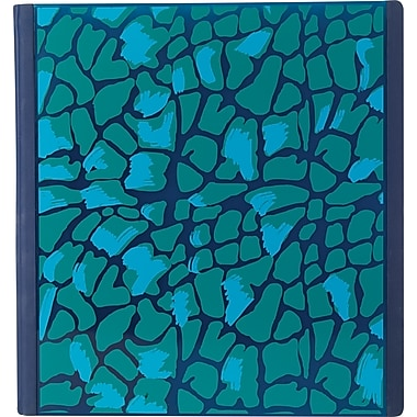 Teen Vogue Better Blue Leopard 1-Inch 3-Ring Binder, Blue Leopard (26240)