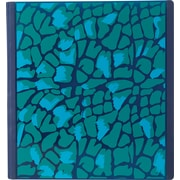 1-1/2 Teen Vogue Better Binder, Blue Leopard