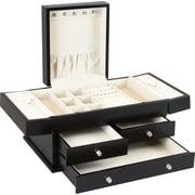 HomePointe Wooden Jewelry Box, Espresso