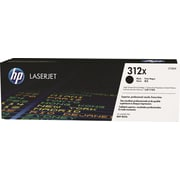 HP 312X Black Toner Cartridge (CF380X), High Yield