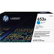 HP 653A ColorSphere Cyan Toner Cartridge (CF321A)