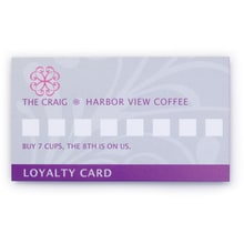 Loyalty Cards starting at $29.99 (250 ct)