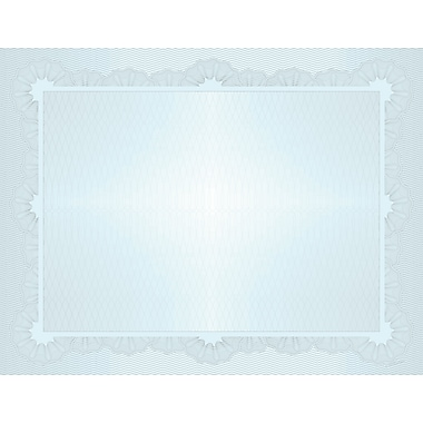 Great Papers® Grand Blue Value Certificate, 50/Pack