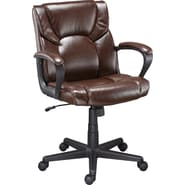 Staples® Montessa II™ Luxura® Managers Chair, Brown