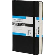 Moleskine City Notebook - New York, Pocket, Black, Hard Cover, 3-1/2 x 5-1/2
