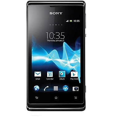 Sony Xperia E C1504 Unlocked GSM Android Cell Phone, Black