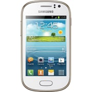 Samsung Galaxy Fame S6812 Unlocked GSM Dual-SIM Android Cell Phone, White