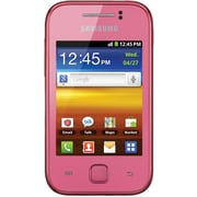 Samsung Galaxy Y S5360 Unlocked GSM Android Cell Phone, Pink