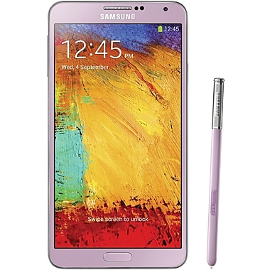 Samsung Galaxy Note 3 N9000 32GB Unlocked GSM Android Cell Phone, Pink