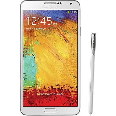 Samsung Galaxy Note 3 N9000 32GB Unlocked GSM Android Cell Phone, White