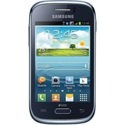 Samsung Galaxy Young S6310 Unlocked GSM Android Cell Phone, Blue