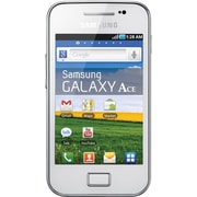 Samsung Galaxy Ace S5830 Unlocked GSM Android Cell Phone, White