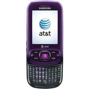 Samsung Strive A687 Unlocked GSM Slider Cell Phone, Purple